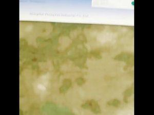 1000D nylon oxford kamuflase PU dilapisi kain tahan air