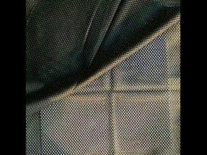 160gsm polyester warp merajut mesh kain bersih untuk rompi militer