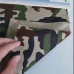 Pola kamuflase 80/20 kain katun poliester kepar untuk seragam militer