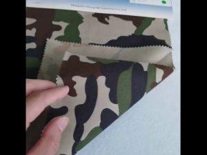 Pola kamuflase 8020 kain katun poliester kepar untuk seragam militer