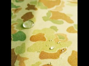 Cina pabrik 1000 denier cordura dicetak kain nilon dengan anti air