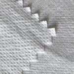 WF1 / O9TO5 SS + PTFE Kain bukan tenunan dilaminasi dengan PTFE susu membran bernapas dari kain jas pelindung medis
