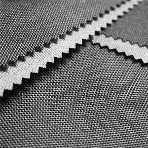 kekuatan tinggi balistik nilon 1000d cordura militer kain nilon dengan pu dilapisi untuk tas