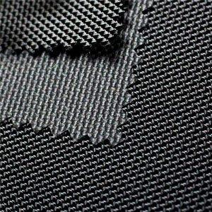 1680d twill jacquard polyester oxford fabric dengan pu coated textile untuk tas