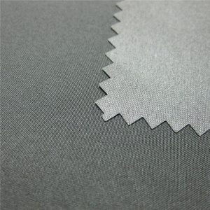 100% Polyester Pongee Dilapisi Kain Jaket Tahan Air Luar Ruangan