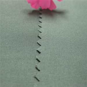 penjualan panas kain pongee 100% polyester benang dicelup kain pongee 190t