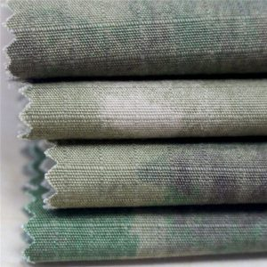 pencetakan militer antistatik ripstop kain katun garmen tentara