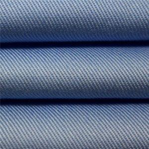 100% katun twill carded dicelup kain seragam pakaian workwear kain