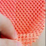 Polyester tricot warp rajutan jala kain saku ransel militer