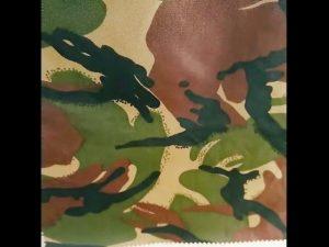 kamuflase dicetak tahan air ripstop nilon oxford seragam kain militer