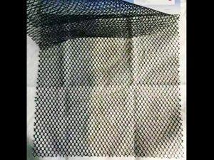 perintah pengadilan 100% polyester tas tentara lapisan mesh kain tahan lama